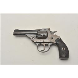 "18CA-313 IVER JOHNSONIver Johnson .32 S&W caliber double action  revolver with a 3"" barrel, S/N 7338"