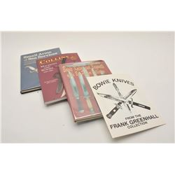 18EMY-12 SWORD & BLADE BOOKSLot of approximately 21 reference books on  collectible swords and blade