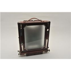 18AL-82 CONLEY CAMERAVintage Conley large format professional  camera with case, wood folding stand,