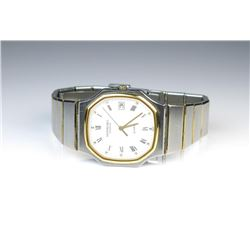 18CAI-32 RAYMOND WEILL SWISS WATCHNice Raymond Weill two-tone Swiss made watch  in good running cond
