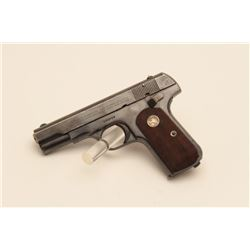 17AY-2 COLT 1908 #104777Colt Model 1908 Pocket Hammerless  semi-automatic pistol, .380 caliber, Seri