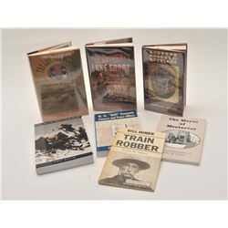 18EMY-3 LOT OF LAWMAN & OUTLAW BOOKSLot of approximately 22 reference books on  lawmen, outlaws and