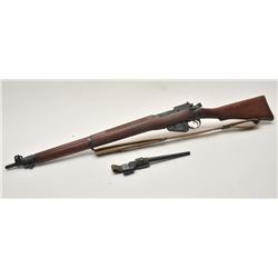 17MH-26 ENFIELD NO4 #D27856British Enfield No. 4 MK I bolt action rifle,  .303 caliber, military fin