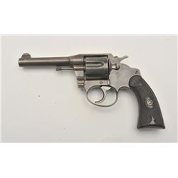 17LP-5 COLT POLICE POST. #139300Colt Police Positive revolver, .38 caliber,  Serial #139300.  The pi