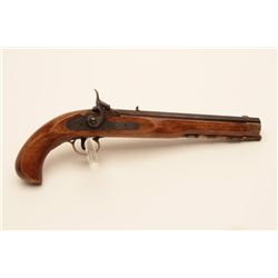 17KH-587 BLACK POWDER REPROModern reproduction of a percussion single  shot pistol, .45 blackpowder