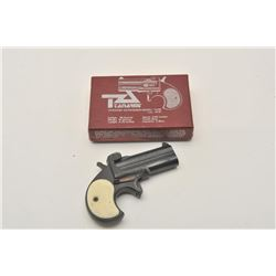 17LB-21 DERRINGER #L81433Tanarmi Model TA38 O/U derringer, .38 Special  caliber, black finish, simul
