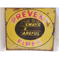 SIGNS, PREVENT FIRES