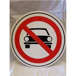 SIGNS, NO PARKING