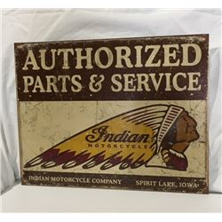SIGNS, INDIAN MOTORCYCLES