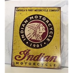 SIGNS, INDIAN MOTORCYCLE
