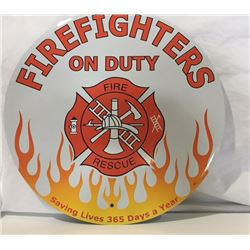 SIGNS, FIREFIGHTERS