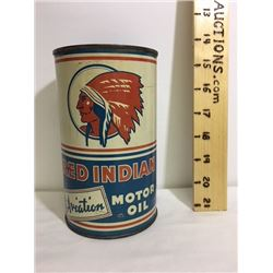 RED INDIAN MOTOR OIL