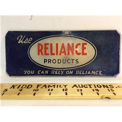 RELIANCE PUMP PLATE