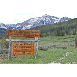 Granite Ranch Wyoming Wilderness Cabin Vacation Package for 3 nights for 2 people