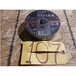 New Reflex Cutting Disc 4''1/2 x 1/25'' x 7/8''