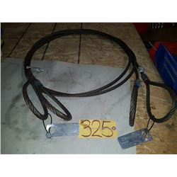 Set of Steel Sling 1/2'' 5000lbs 12''
