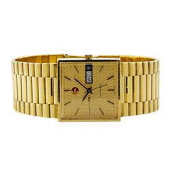 Rado Vintage Men's Wristwatch - 18KT Yellow Gold