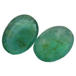 4.7 ctw Oval Mixed Emerald Parcel