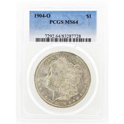 1904-O MS64 Morgan Silver Dollar