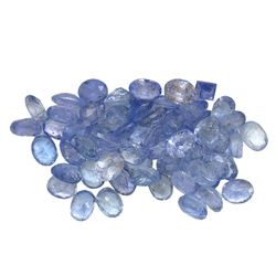 10.89 ctw Oval Mixed Tanzanite Parcel