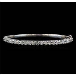 14KT White Gold 2.93 ctw Diamond Bracelet