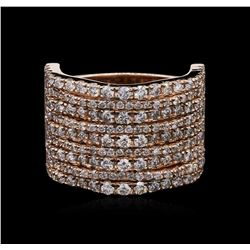 2.36 ctw Diamond Ring - 14KT Rose Gold