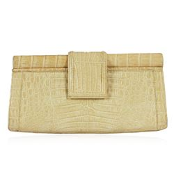 Nancy Gonzalez Crocodile Clutch Bag