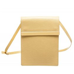 Louis Vuitton Pale Yellow Epi Leather Ramatuelle Shoulder Bag