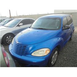 CHRYSLER PT CRUISER 2005 O/S T-DONATION