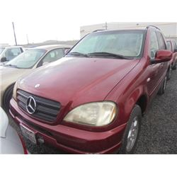 MERCEDES ML320 2000 T-DONATION