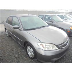 HONDA CIVIC 2005 APP DUP SALV-DON