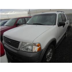 FORD EXPLORER 2002 SALV T/DONATION