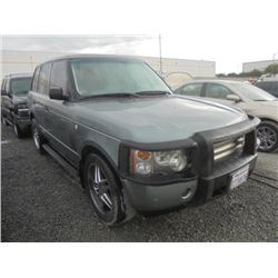 LAND ROVER RANGE ROVER 2003 T-DONATION