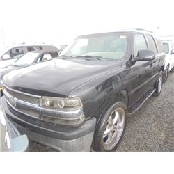 CHEVROLET TAHOE 2002 T-DONATION