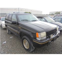 JEEP GR CHEROKEE 1995 L/S-DONATION