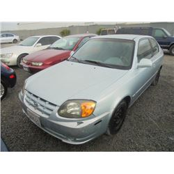 HYUNDAI ACCENT 2003 T-DONATION