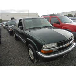 CHEVROLET S10 2002 T-DONATION