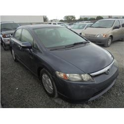 HONDA CIVIC HYBRID 2006 T-DONATION