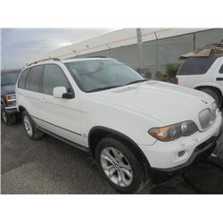 BMW X5 2006 SALV T/DONATION