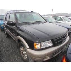 HONDA PASSPORT 2001 APP  DUP/T-DON