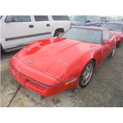 CHEVROLET CORVETTE 1987 T-DONATION