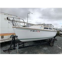 CATALINA BOAT 22FT 1987 T-DONATION