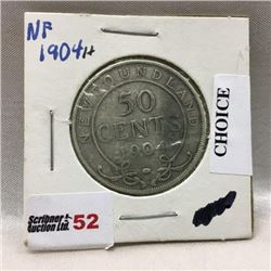 Newfoundland Fifty Cent (CHOICE of 7)