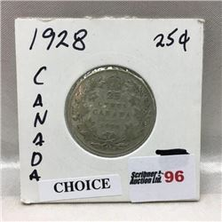 Canada Twenty Five Cent (CHOICE of 10)