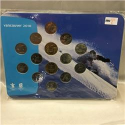 Vancouver 2010 Coin Sets (CHOICE of 5)
