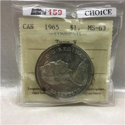 Canada Silver Dollar (CHOICE of 6)