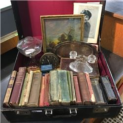 LOT1: Hardshell Suitcase w/Contents