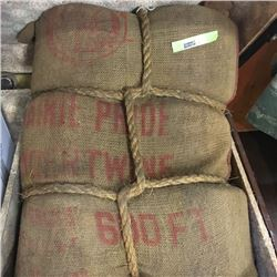 LOT14: Antique Sack of Baler Twine