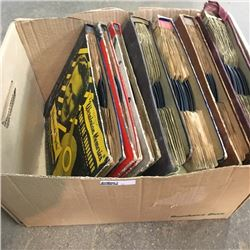 LOT17: Box Lot: Record Albums