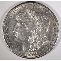 1894-S MORGAN DOLLAR, AU